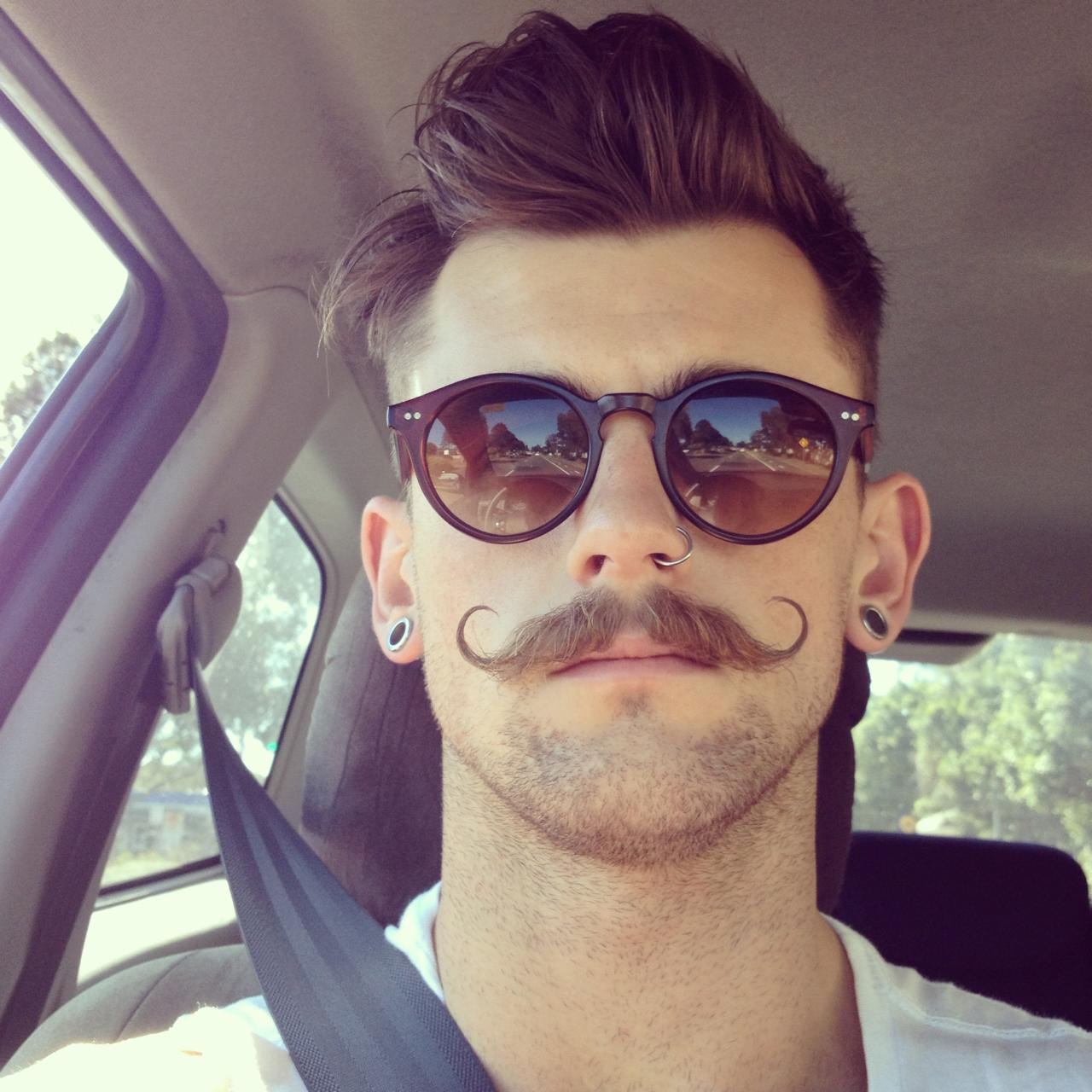Type de moustache