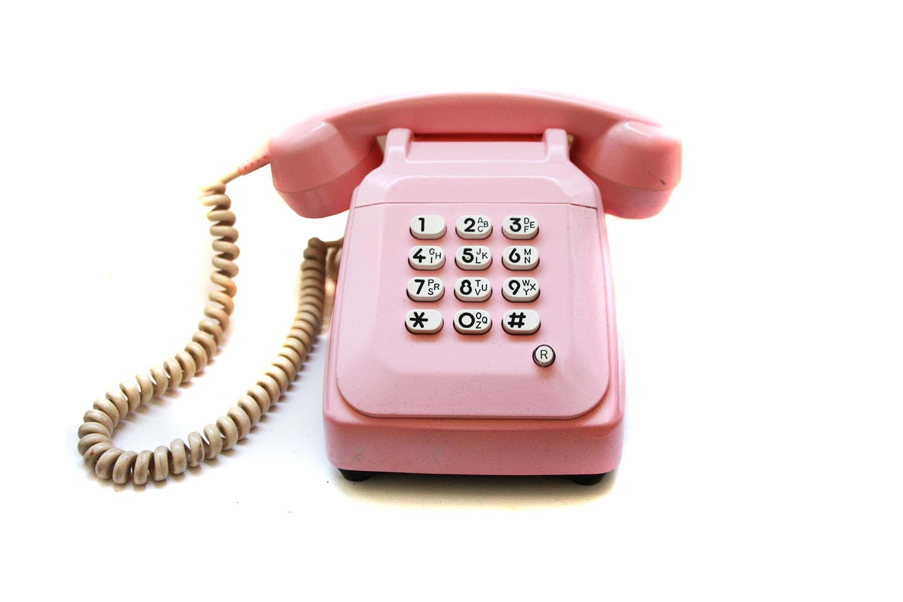 comment faire du t u00e9l u00e9phone rose